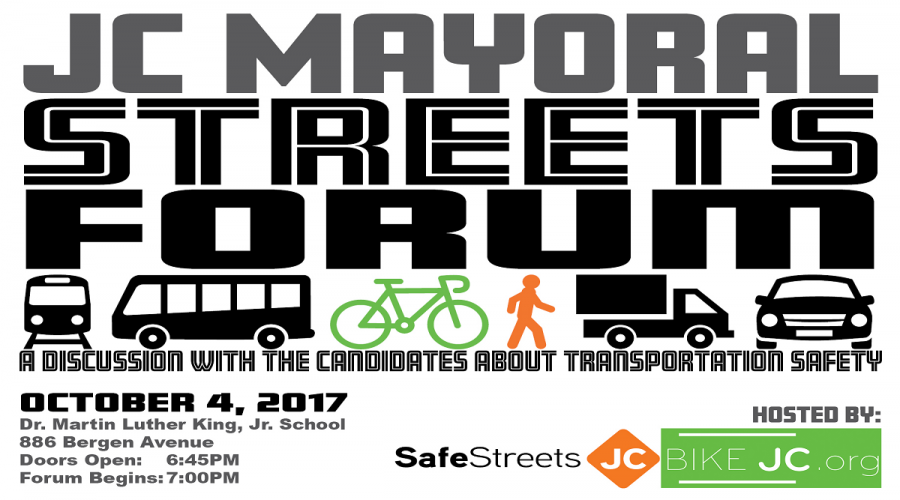 Join Us Oct. 4th for the JC Mayoral Streets Forum!